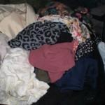 【断捨離報告】今日は40点以上の服&バッグを捨てました!