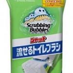 トイレの掃除用ブラシが不衛生!⇒「シャット」流せるお掃除ブラシへ